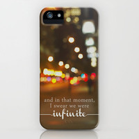 perks of being a wallflower - we were infinite iPhone Case by Lissalaine   Society6