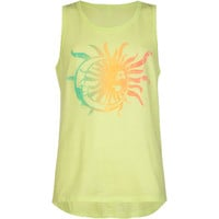 O'neill Moonshine Girls Tank Lime  In Sizes