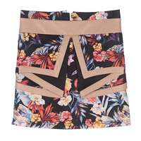 Whitney Eve Floral Malibu Skirt
