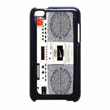 DCKL9 Nike Air Jordan Radio Boombox iPod Touch 4th Generation Case