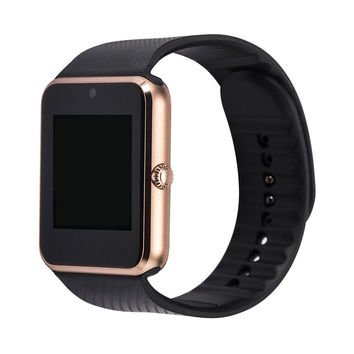 GT08 Bluetooth Smart Watch wearable devices Support SIM TF Card Smartwatch For a