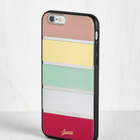Minimal You Make the Call iPhone 6 Case in Bright Tones by ModCloth