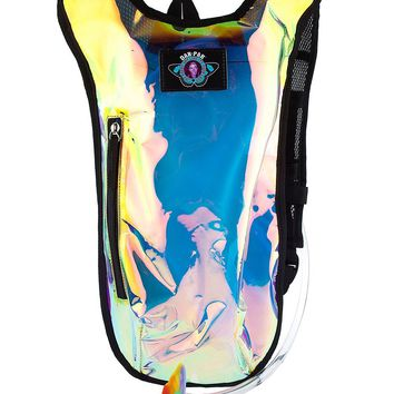 Dan-Pak Clear Holographic Hydration Backpack