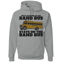 Marching Band Bus Secrets Hoodie: This Mom Means Business!