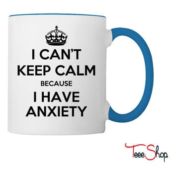 anxiety shirt Coffee & Tea Mug