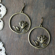 Simplicity Earrings - Bronze