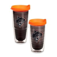 Tervis® Oklahoma State University Shadow Pete Emblem Tumbler in Brown with Lid