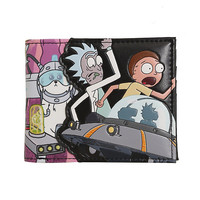 Rick And Morty Characters Bi-Fold Wallet