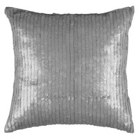 Rizzy Home Lexus Sequined Decorative Cotton Toss Pillow