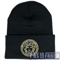 Versace Medusa Beanie | F as in Frank Vintage Clothing