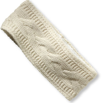 Women's Winter Knit Headband | Free Shipping at L.L.Bean