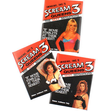 Scream Queens Trading Cards (Set of 3 Packs)
