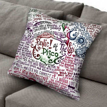 panic at the disco pillow case, Custom Square Pillow Case popular