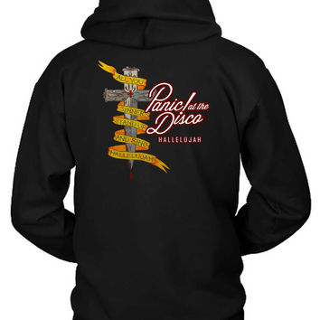 Panic At The Disco Hallelujah All You Sinners Stand Up Hoodie Two Sided