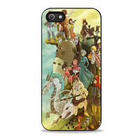Studio ghibli character anime Iphone 5s Cases