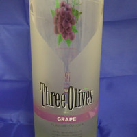 25 oz. Pure Soy Candle in Reclaimed Three Olives Grape Bottle - Your Choice of Scent
