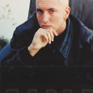 Eminem Leather Jacket Poster 24x34
