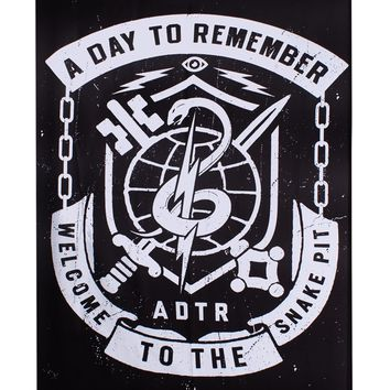 A Day To Remember Snake Pit Flag