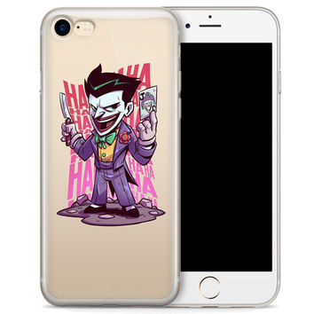 """The Joker (animated) Jelly Clear Case for Apple iPhone 6/6s (4.7"""")"""