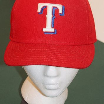 TEXAS RANGERS Baseball MLB Style Hat Cap One Size 7 1/4 59Fifty