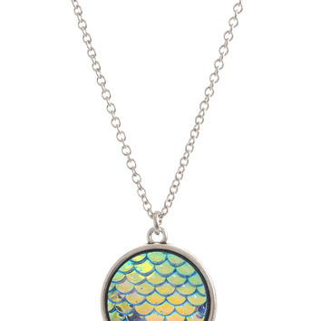 Mermaid Scales Sea Siren Shimmer Necklace