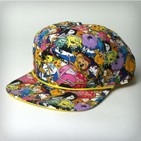 Adventure Time Allover Snapback Hat
