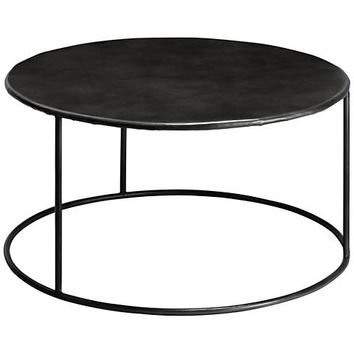 Jamie Young Americana Iron Round Coffee Table - #11R13 | Lamps Plus