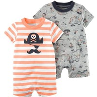 2-Pack Rompers