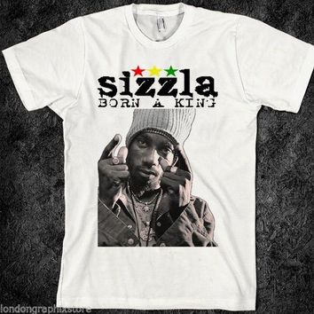 Reggae T Shirt, Sizzla, Yellowman, King Tubby, Rasta, Jamaica, Dancehall, Hoodie  Short Sleeve Discount 100 % Cotton T-Shirts