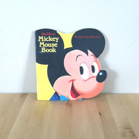 Walt Disney's Mickey Mouse Book {1965} Vintage Book