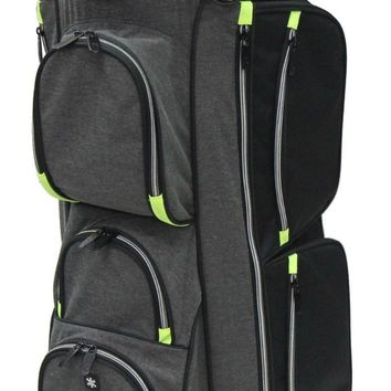 RJ Sports 9.5 Inch True Golf Cart Bag Black/Grey EL-680 FREE SHIPPING!