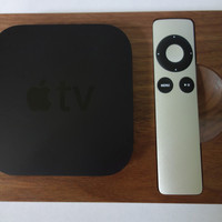 Walnut bloc for Apple TV