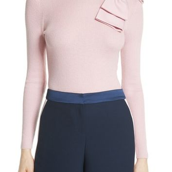 Ted Baker London Bow Detail Ribbed Sweater | Nordstrom