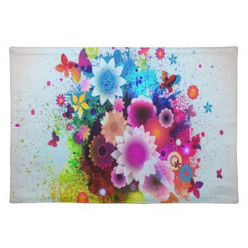 Happy Mother's Day Cloth Placemat