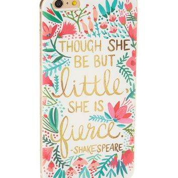 Clear 'Though She Be But Little' Soft Case for iPhone 5 / 5S & SE