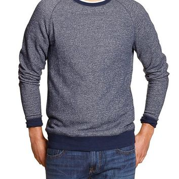 Factory Marled Crew Neck Pullover