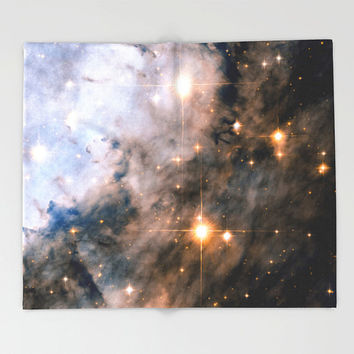 Throw Blanket, Outer Space Decor, Home Decor, Eagle Nebula