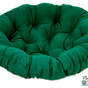"""42"""" Papasan Cushion in Solid Cotton Duck Fabric (Cushion Only)"""
