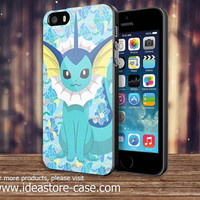 Pokemon X Y Vaporeon For IPod 4/5 IPhone 4/4S/5/5S/5C and Samsung Galaxy S3/S4/S5 Note 3