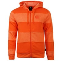 adidas Miami Heat Men's Full Zip Hoody - Orange