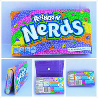 Upcycled - Nerds Candy Box - Wallet- Pouch - Cell Phone Holder