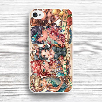 Tattooed Disney Princess case iPhone 4s 5s 5c 6s 6 Plus Cases, Samsung Case, iPod 4 5 6 case, HTC case, Sony Xperia case, LG case, Nexus case, iPad case