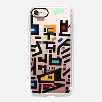Colorful City Disorganitzation iPhone 7 Case by Barruf | Casetify