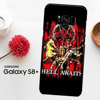 Slayer Hell Awaits Black Metal Band Y0001 Samsung Galaxy S8 Plus Case