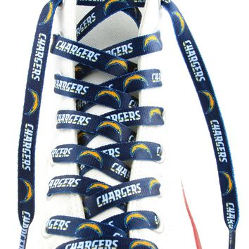 """Up Marketing San Diego Chargers Shoe Laces  54"""""""