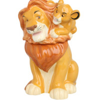 Disney The Lion King Simba On Mufasa Cookie Jar