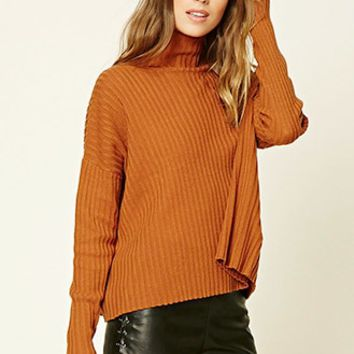 Contemporary Ribbed Cape Top