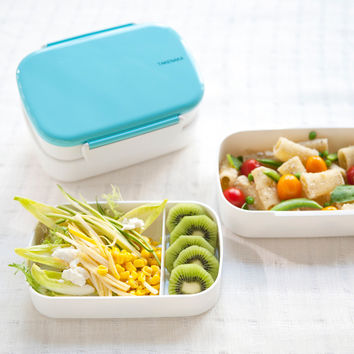 Lock Double-layered Lunch Box [6432335878]