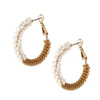 ASOS Seedbead Hoop Earrings