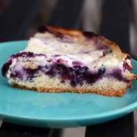 Recipes / blueberry flan